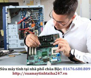 Sửa máy tính tại nhà phố Chùa Bộc