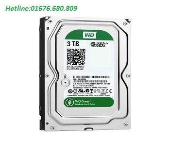 Ổ cứng cao cấp Western HDD Caviar Green 3TB
