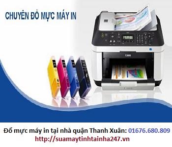 Đổ mực máy in tại nhà quận Thanh Xuân