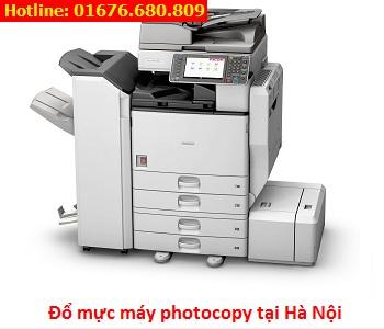 Đổ mực máy photocopy tại Hà Nội