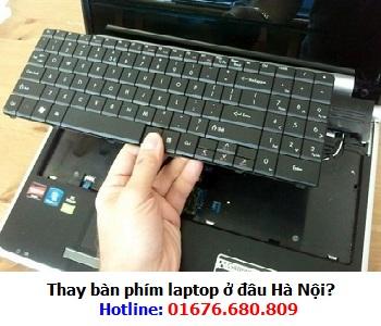 Thay bàn phím laptop ở đâu Hà Nội?