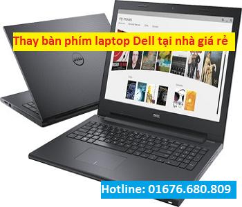 Thay bàn phím laptop Dell giá rẻ