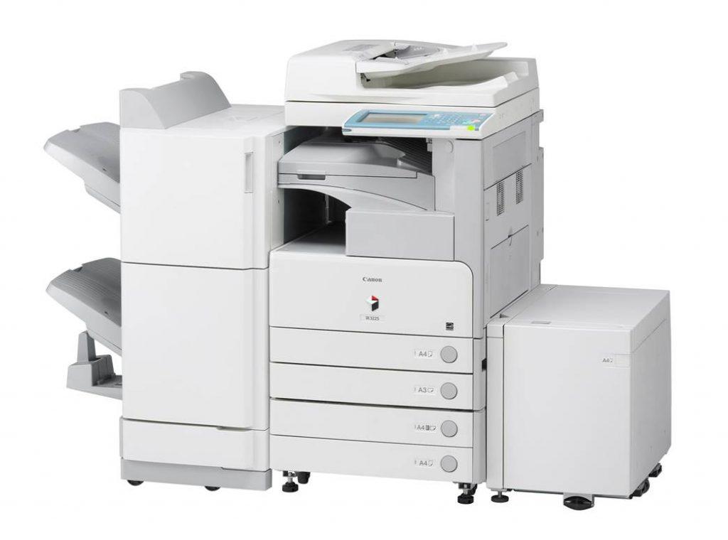 Đổ mực máy photocopy Canon