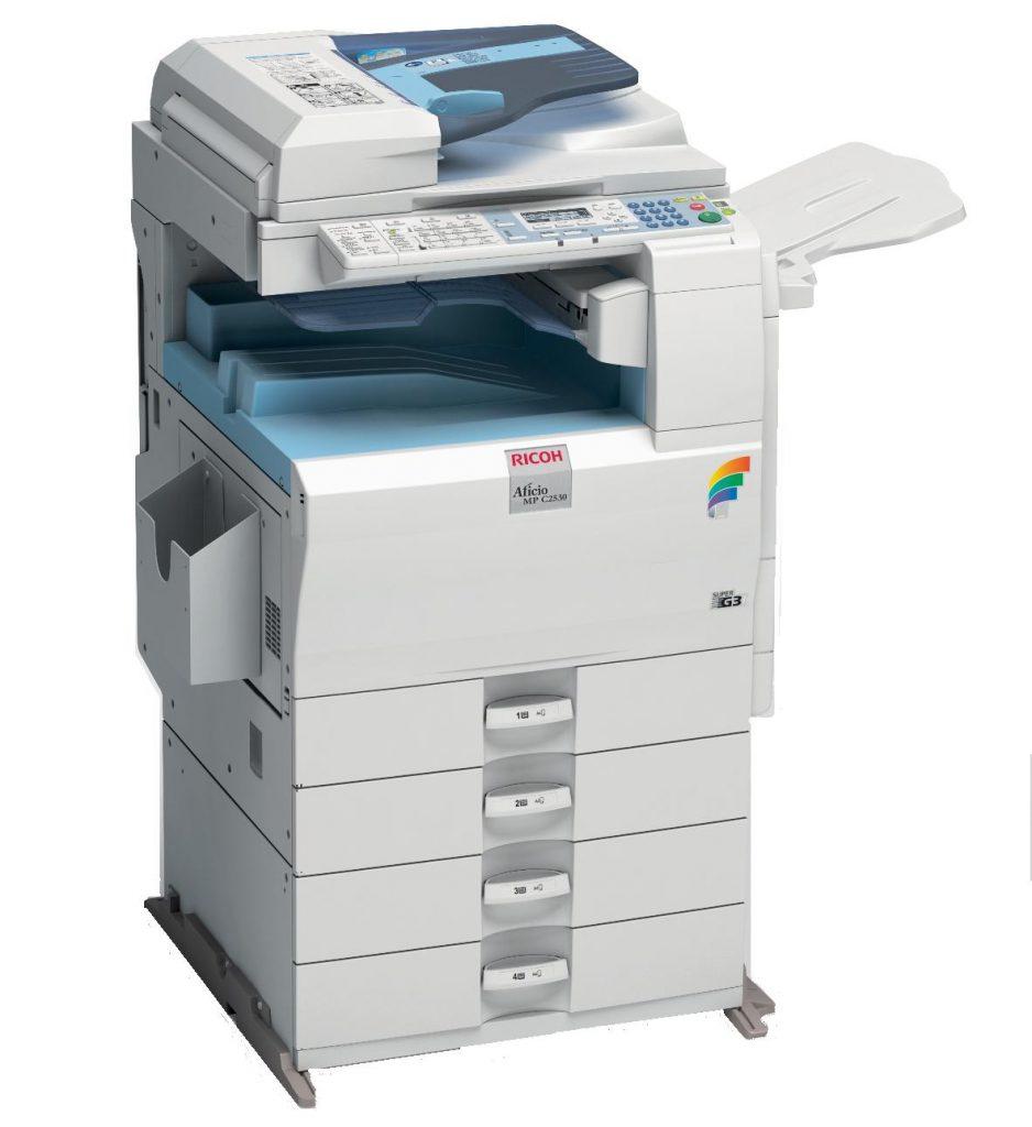Đổ mực máy photocopy Ricoh