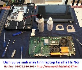 Dịch vụ vệ sinh máy tính, laptop tại Hà Nội giá rẻ