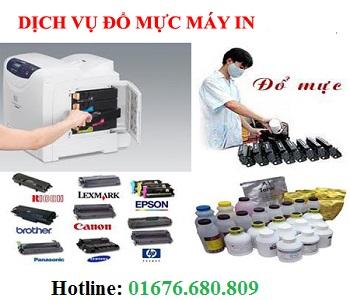 Đổ mực máy in tại nhà giá rẻ Hà Nội