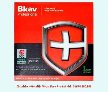 Phần mềm diệt virus BKAV Pro 2015