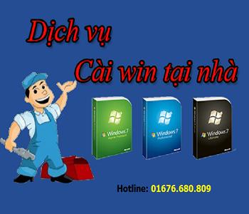 Cài Win tại nhà giá rẻ nhất Hà Nội