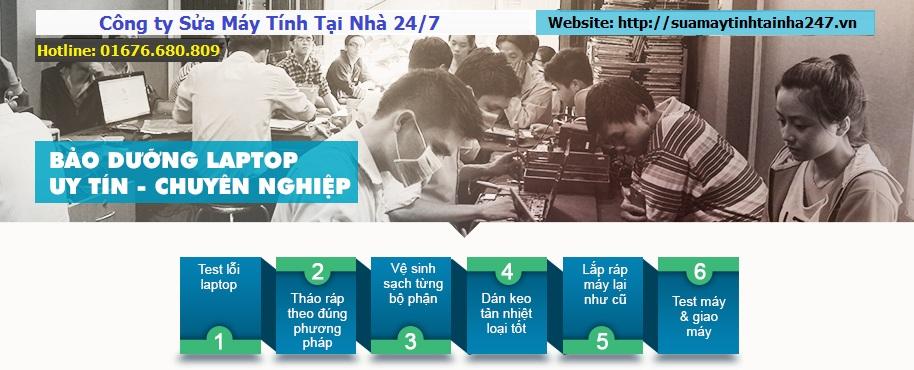 Dịch vụ vệ sinh laptop uy tín Hà Nội