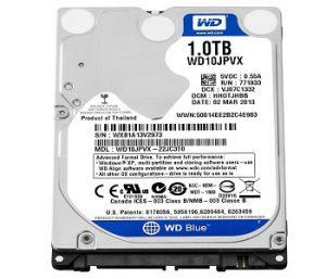 Ổ cứng HDD Western 1TB chính hãng, giá rẻ