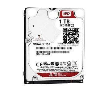 Ổ cứng HDD Western Red 1TB chính hãng, giá rẻ