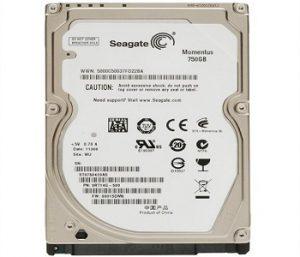 Ổ cứng HDD Seagate 750GB – 5400rpm chính hãng, giá rẻ