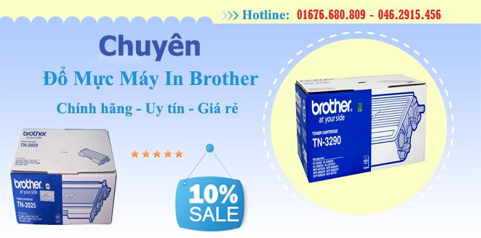 Đổ mực máy in Brother tại Hà Nội