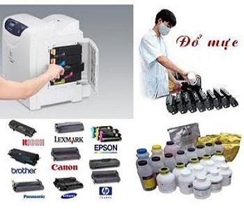 Đổ mực máy in tại nhà phố Linh Lang chuyên nghiệp