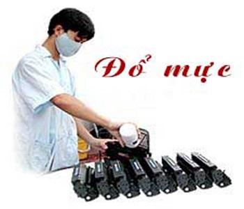 Đổ mực máy in tại nhà phố Nghĩa Tân quận Cầu Giấy