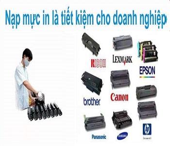 Đổ mực máy in tại nhà phố Thái Thịnh giá rẻ