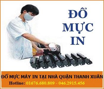 Đổ mực máy in giá rẻ tại phố Lê Trọng Tấn quận Thanh Xuân