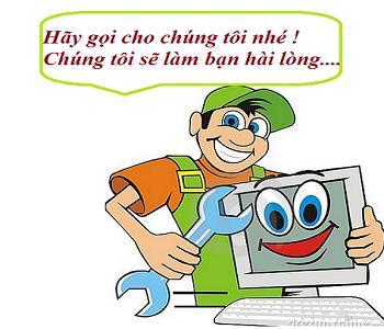 Sửa chữa cài đặt máy tính, laptop tại nhà Hà Nội