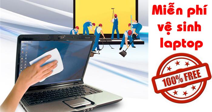 Vệ sinh laptop