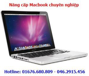 Nâng cấp Macbook tận nhà Hà Nội