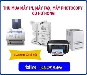 Thu mua máy in cũ giá cao tại Hà Nội
