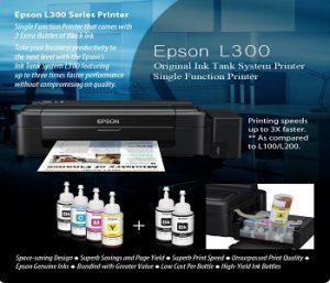Đổ mực máy in Epson L300 giá rẻ tại nhà