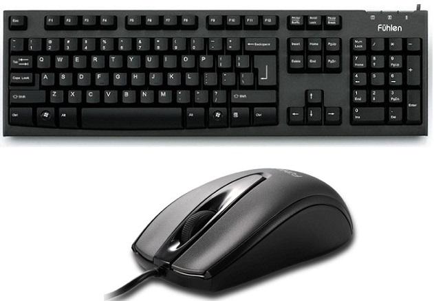 Combo Mouse Fuhlen L102 + Fuhlen L411