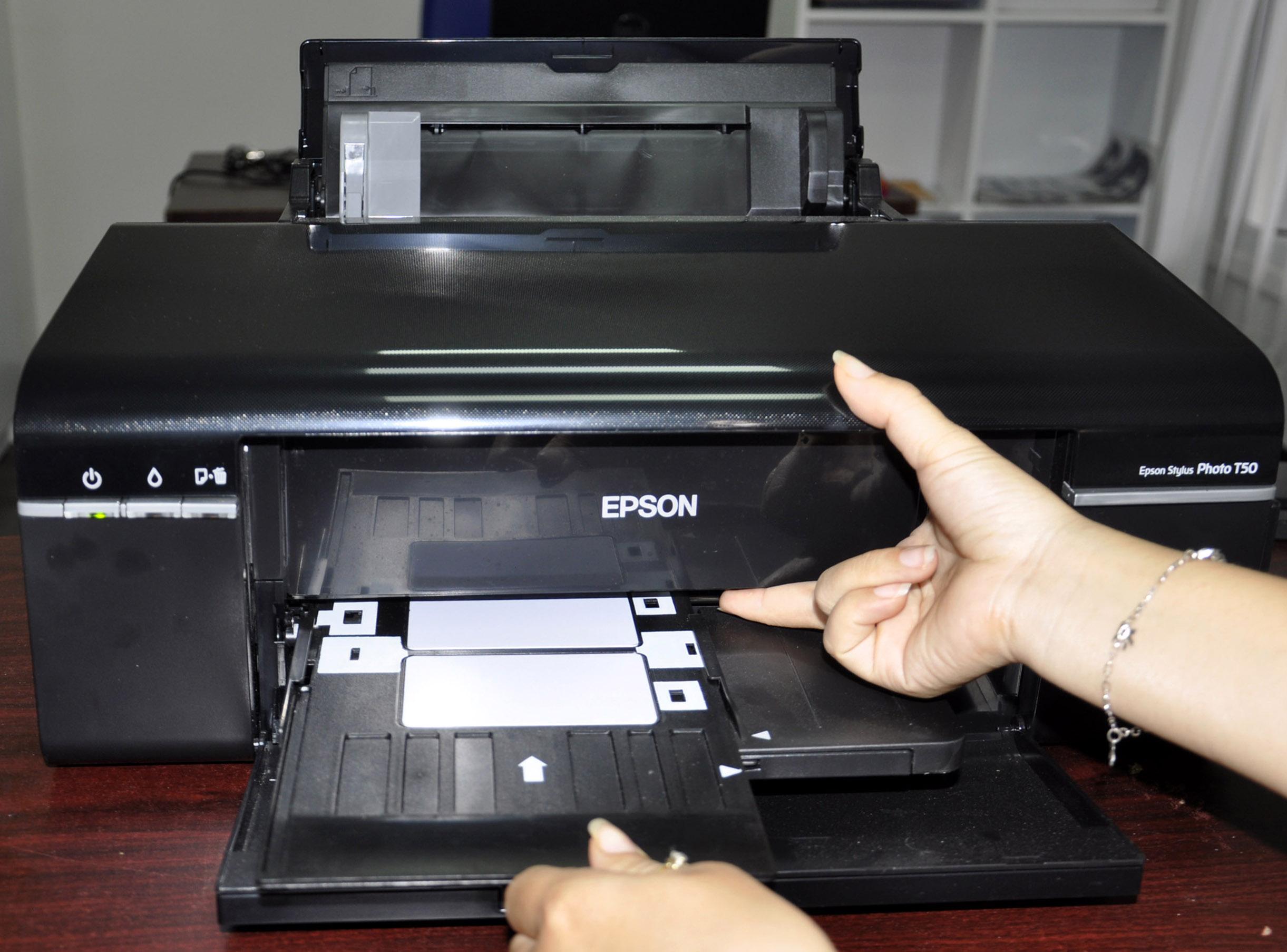 Sửa máy in màu Epson T50