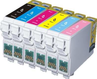 Hộp mực máy in phun màu chính hãng Epson T60