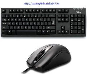Bộ bàn phím chuột Fuhlen L411 + Fuhlen L102