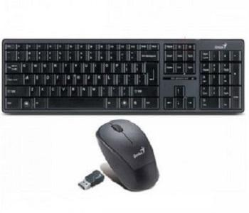 Bộ bàn phím và chuột không dây Genius Slimstar 8000