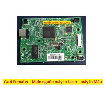 Bán card fomater và card nguồn máy in