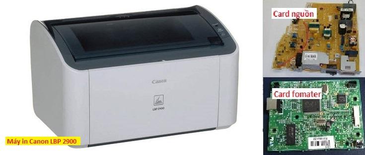 Card fomater và card nguồn máy in canon 2900