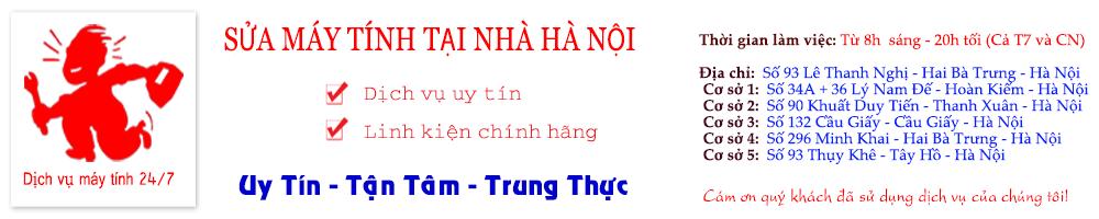 Công ty sửa máy tính tại nhà uy tín tại Hà Nội!
